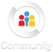 Community button new